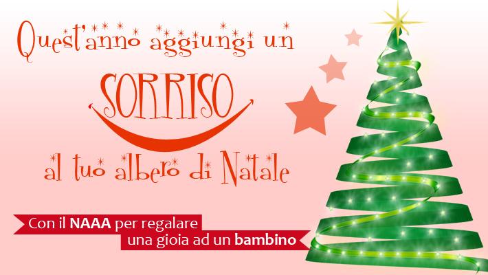Regali Di Natale Onlus.Quest Anno Aggiungi Un Sorriso Al Tuo Albero Di Natale Campagne