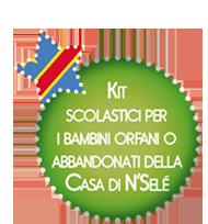 Kit Scolastici per i bambini orfani o abbandonati della Casa di N'Selé