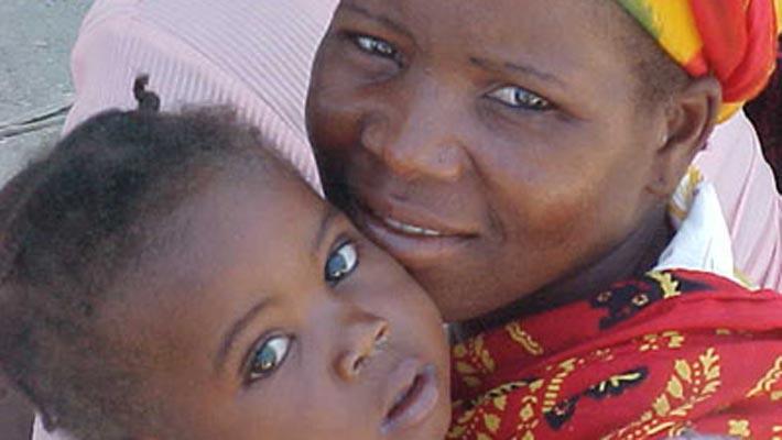 Foto: Ringraziamenti dai bambini di Haiti