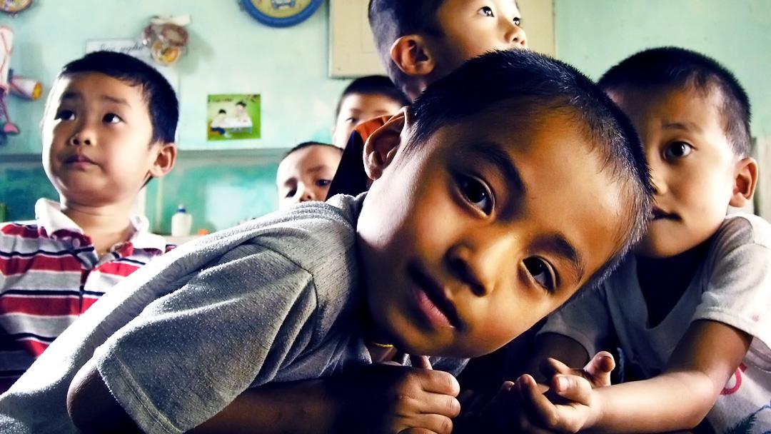 Foto: Bambini vietnamiti