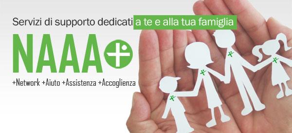 NAAA Plus - Servizi di supporto dedicati a te e alla tua famiglia