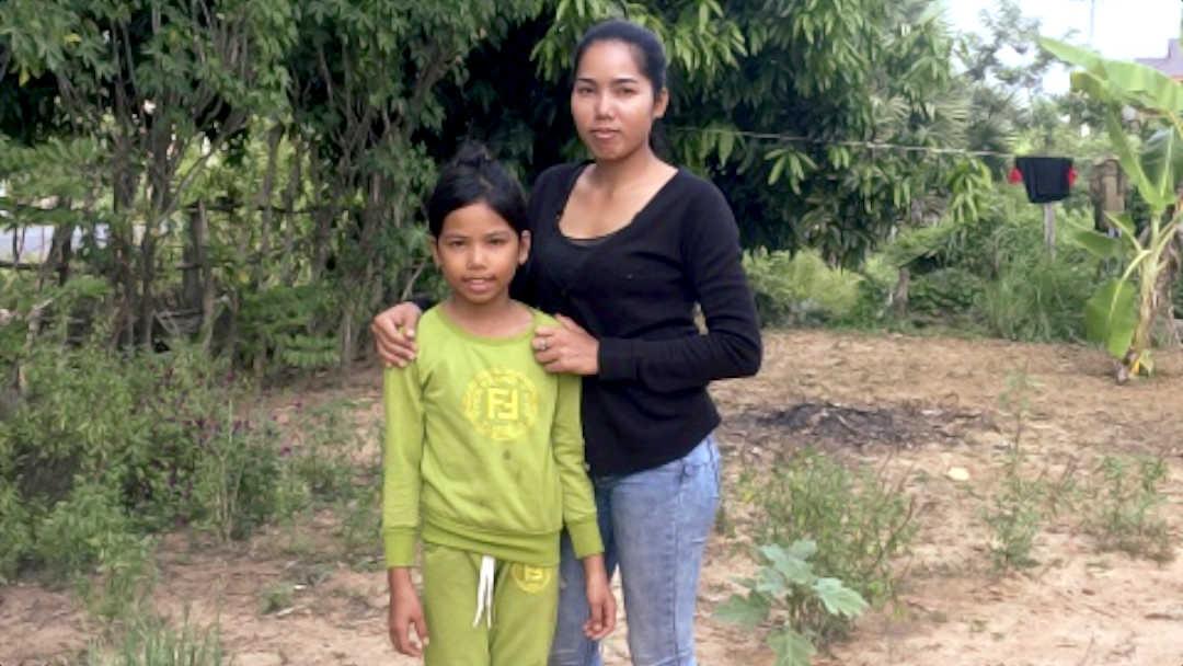 Foto Rachana con la mamma